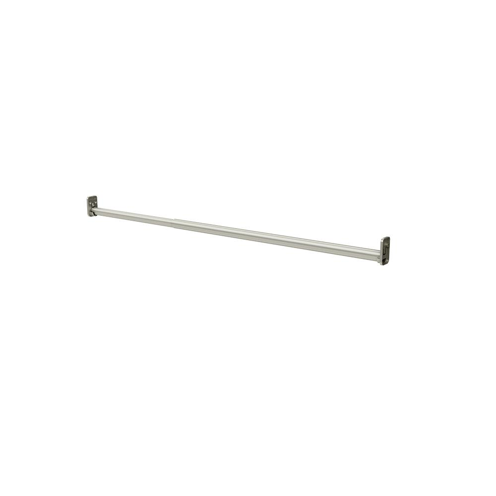 W Satin Nickel Adjustable Hang Rod