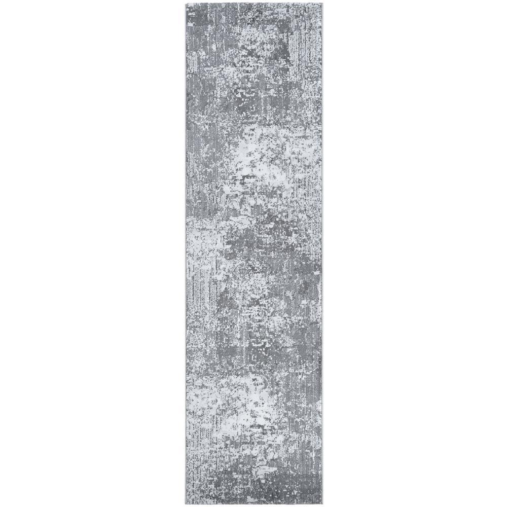 Serenity Field Stone Mushroom-Opal 2 ft. x 8 ft. Runner Rug