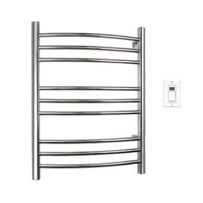Riviera 32 in. Towel Warmer in Polished Stainless Steel