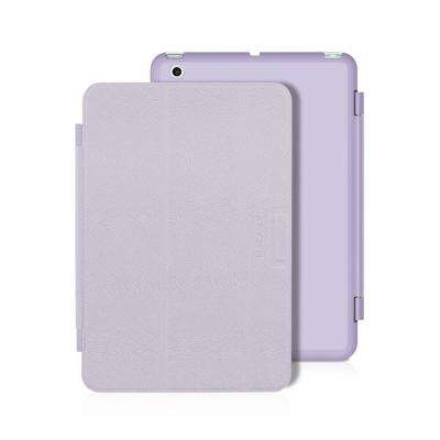 Reversible Color Cover and Hard-Shell with Stand iPad Mini 3, 2 and 1 Generation - Purple