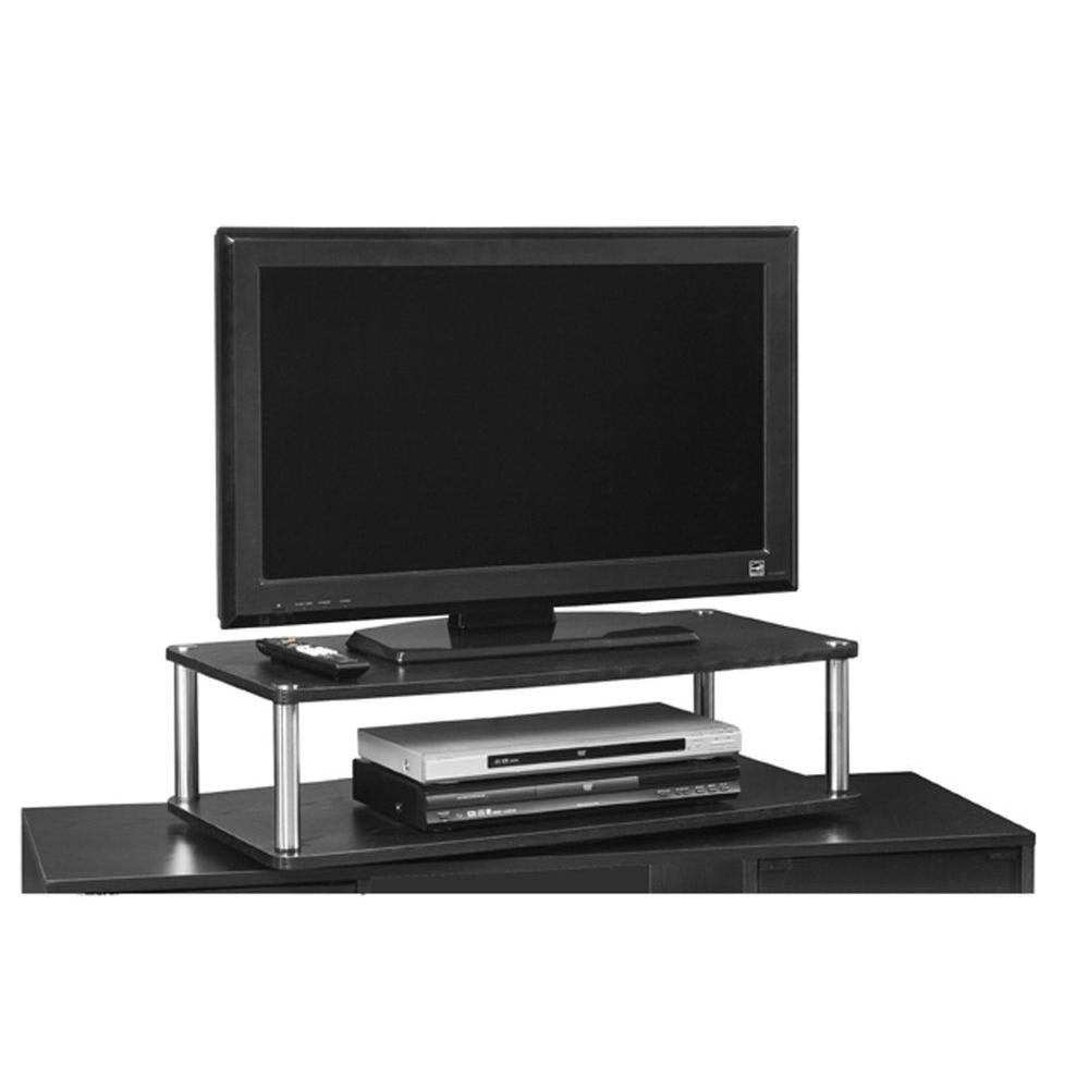 Tv Riser Sierra French Walnut Tv Cabinet Tv Soundbar