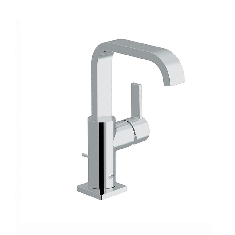 GROHE Allure 1-Hole Single Handle High-Arc Bathroom Faucet in Chrome