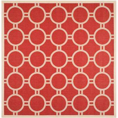 Red - Square - Outdoor Rugs - Rugs - The Home Depot