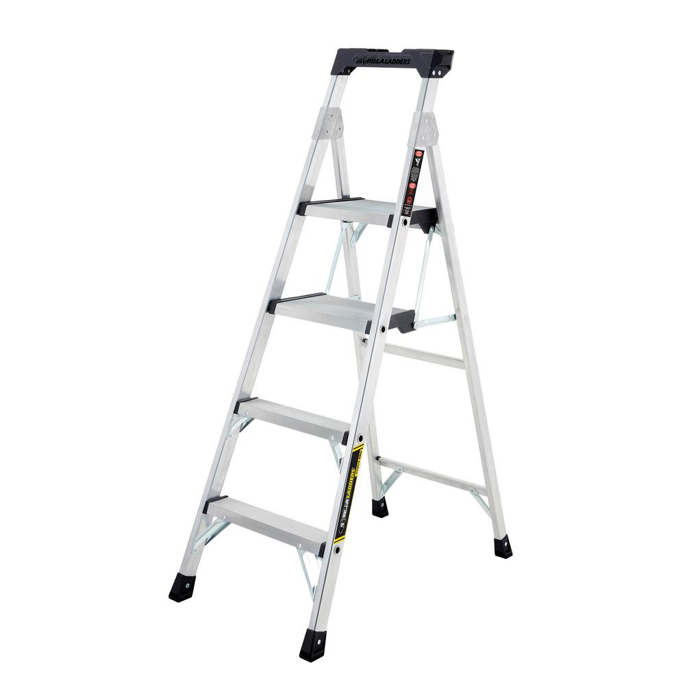 Cosco 4 Ft. Steel Max Work Platform Ladder With 225 Lbs