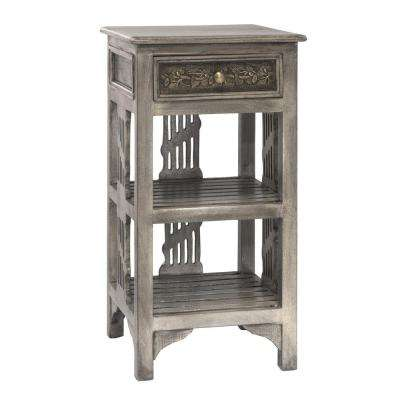 Alena Graywash End Table