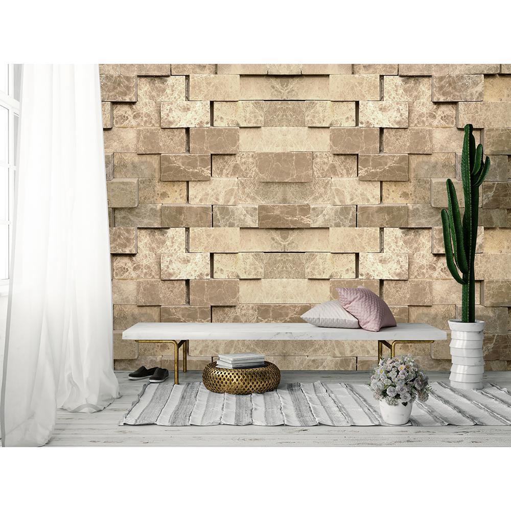 Ideal Decor Stone Wall Mural