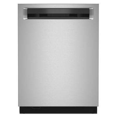 24 in. Top Control Built-in Tall Tub Dishwasher in PrintShield Stainless Steel with Stainless Steel Tub, ENERGY STAR