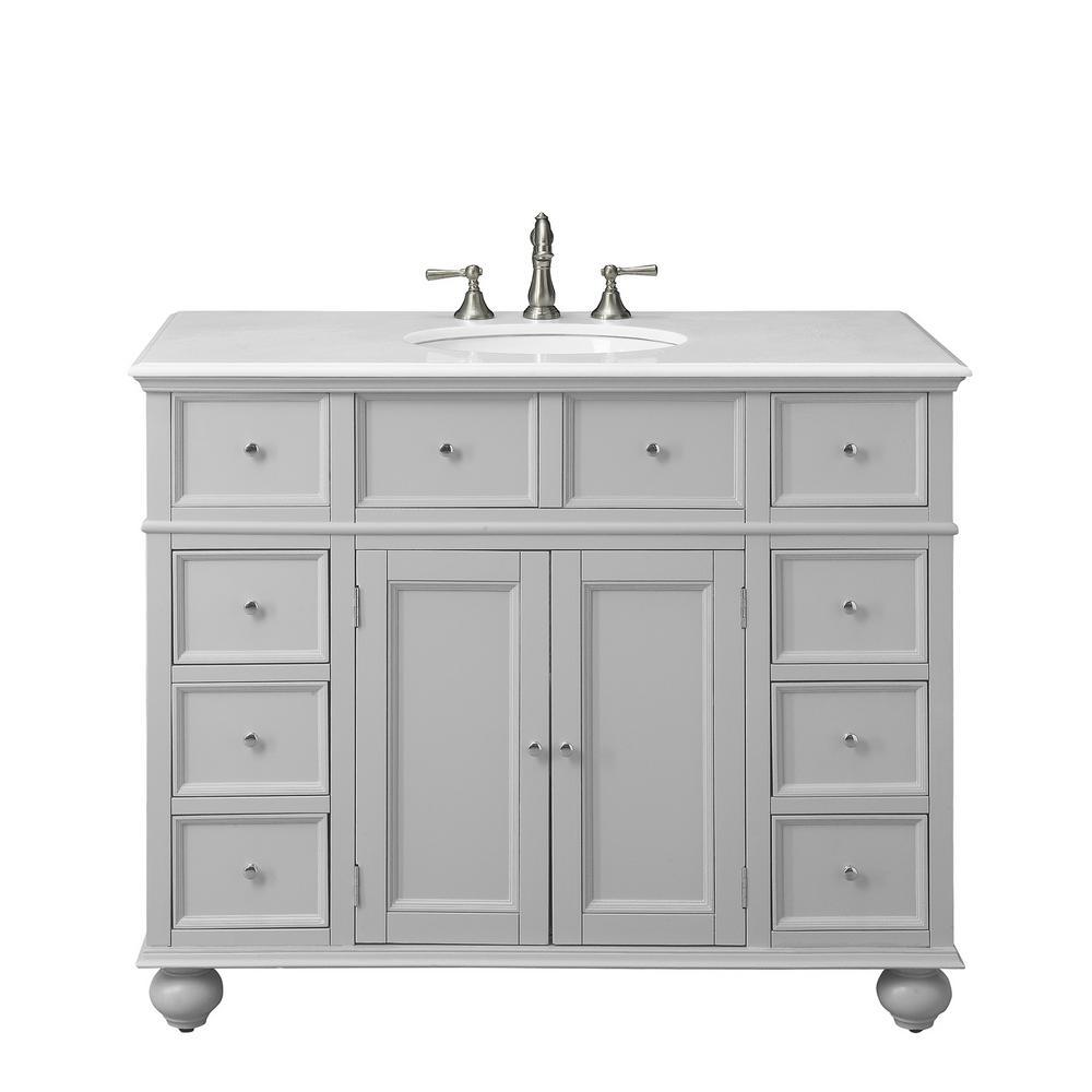 Home Decorators Collection Hampton, 44 Bathroom Vanity