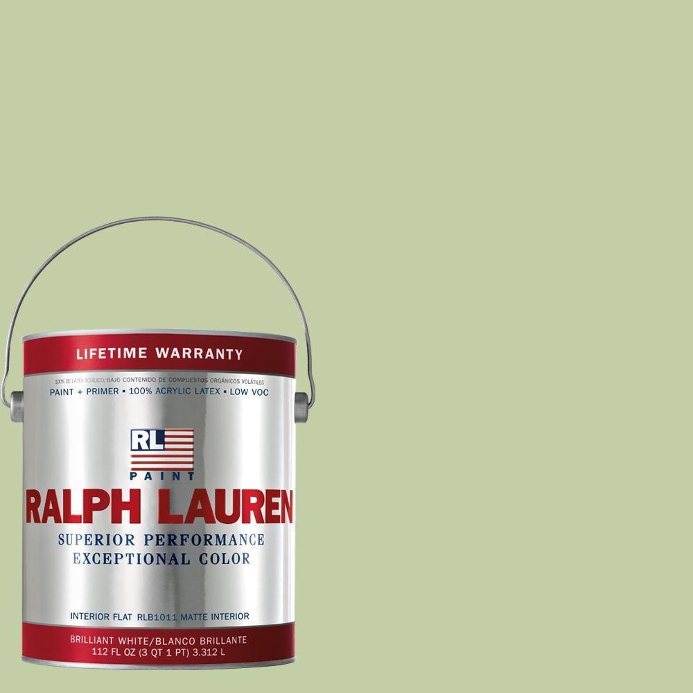 Ralph Lauren 1-gal. Old Field Green Flat Interior Paint