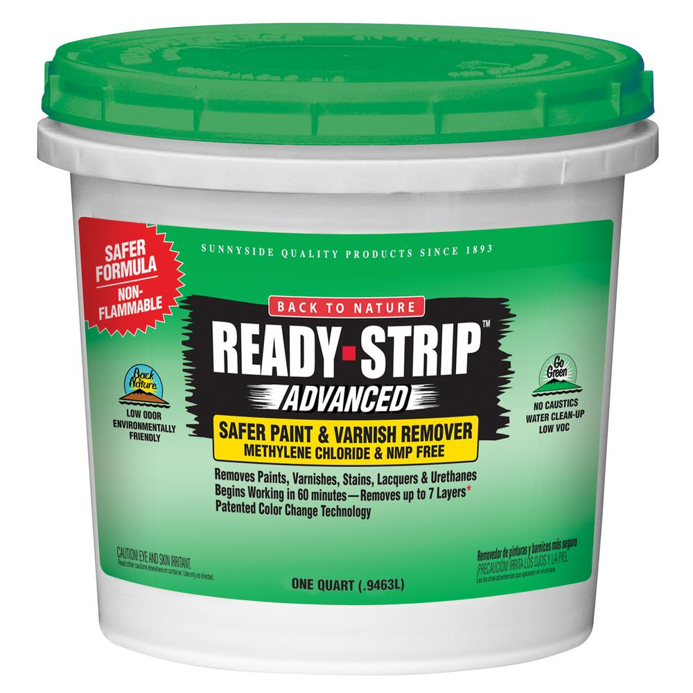 Ready-Strip Advanced 1 qt. Environmentally Friendly Safer Paint and Varnish Remover