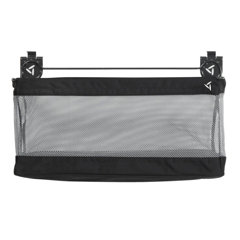 24 in. W x 12 in. D Mesh Basket Garage Storage for GearTrack or GearWall