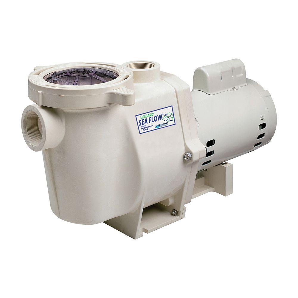 null Sea Flow 8400-GPH High Performance Pond Pump