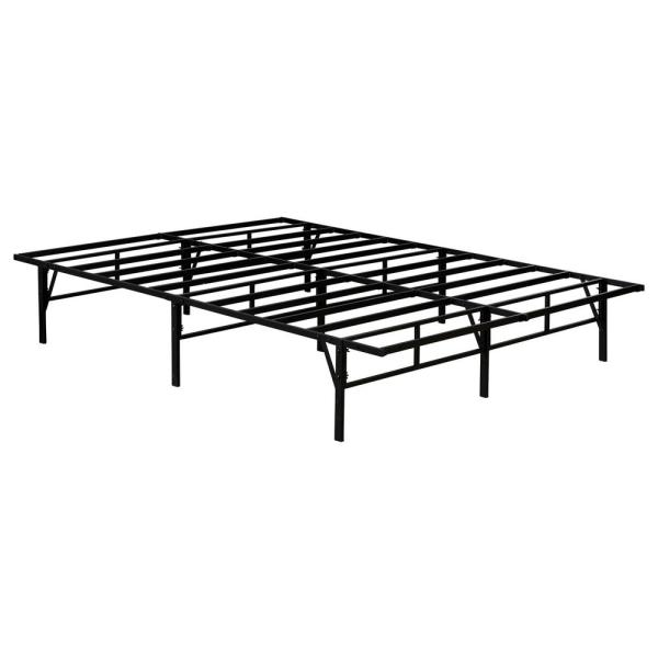 Kings Brand Furniture Mattress Foundation Queen Metal Platform Bed Frame Q9301B