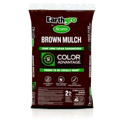 2 cu  ft  Brown Mulch
