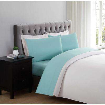 Everyday Turquoise Queen Sheet Set