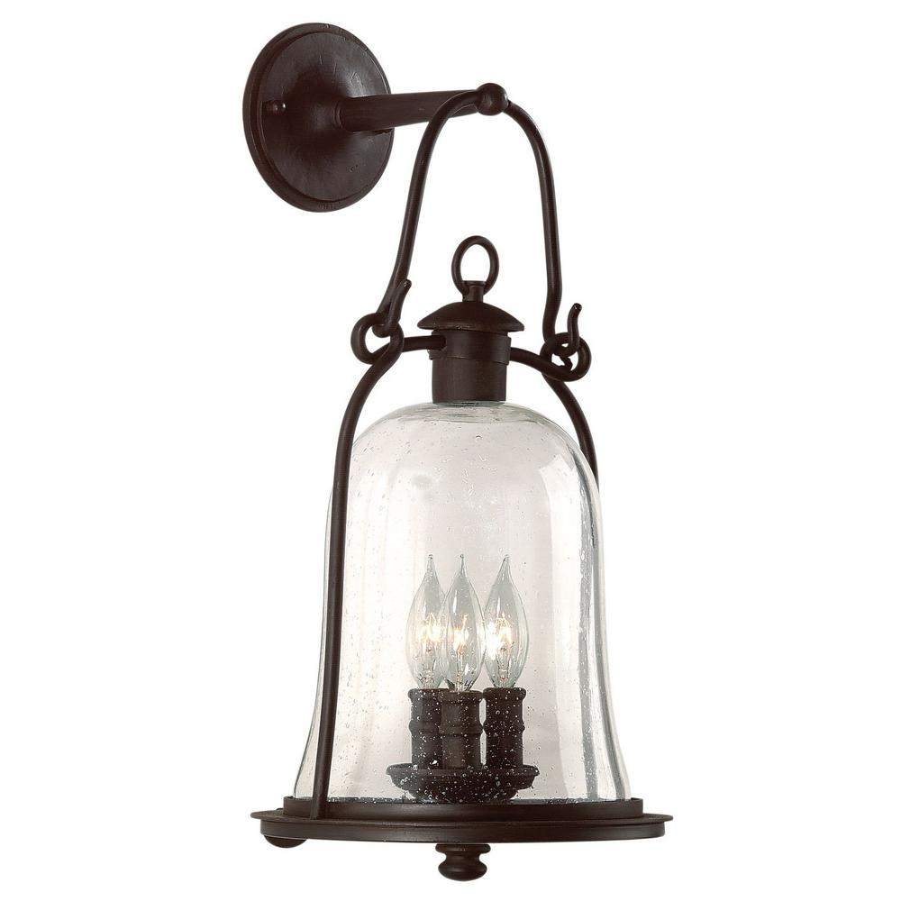 Troy lighting owings mill 3 light natural bronze outdoor wall mount troy lighting owings mill 3 light natural bronze outdoor wall mount lantern workwithnaturefo