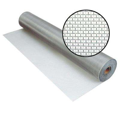 48 in. x 100 ft. Brite Aluminum Screen (Tube)