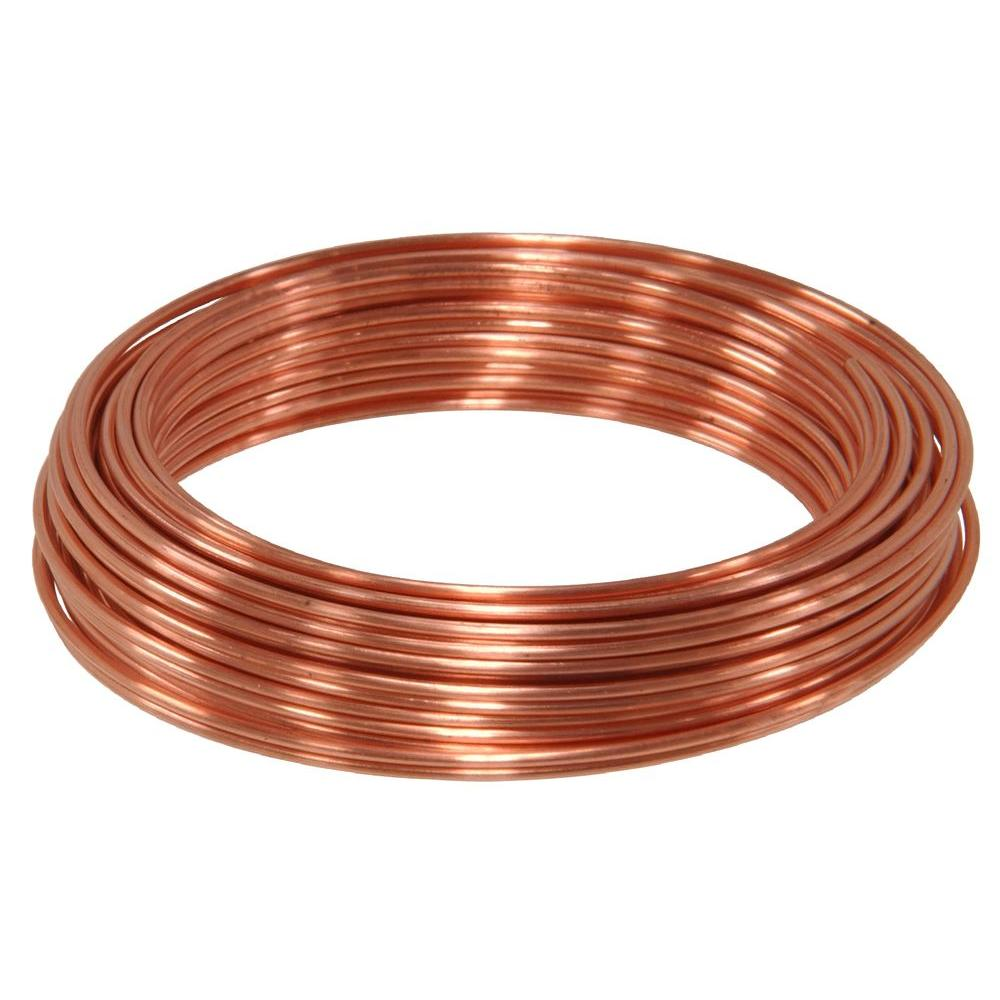 50 ft. 20-Gauge Copper Hobby Wire-50162 - The Home Depot