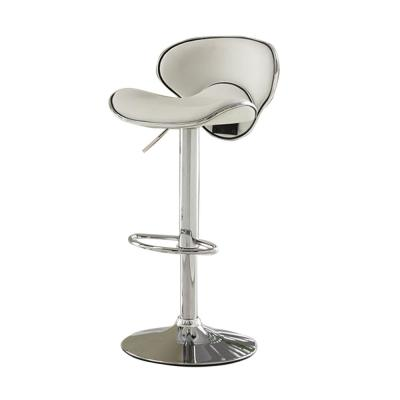 Kossi 26 in. White Contemporary Style Bar