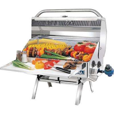 Newport 2 Gourmet Series Propane Gas Grill 162 sq. in.