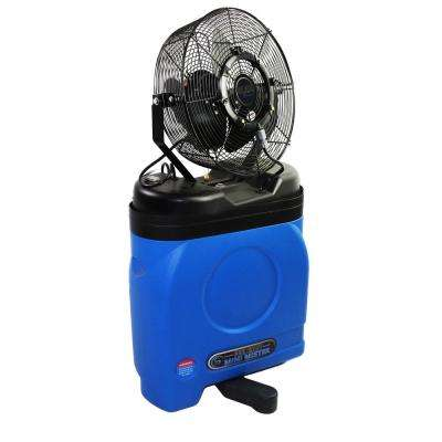 Mid Pressure 14 in. Misting Fan with Cooler Case