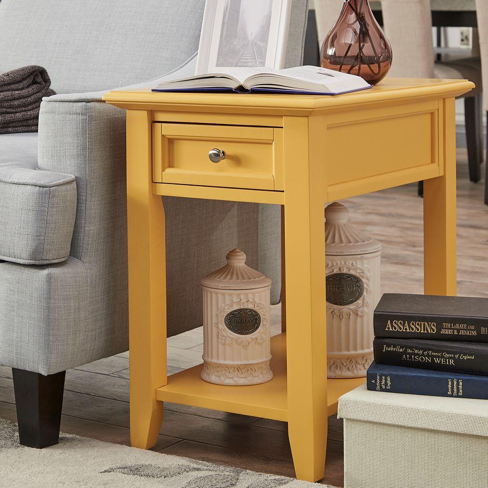 HomeSullivan Harrison Yellow Side Table