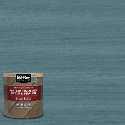 1 qt. #ST-113 Gettysburg Semi-Transparent Waterproofing Exterior Wood Stain and Sealer