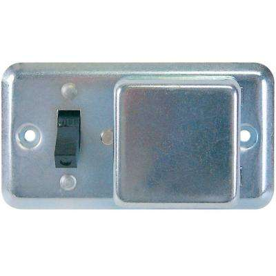 SSU Series 2-1/4 in. Fuse Box Cover with Switch