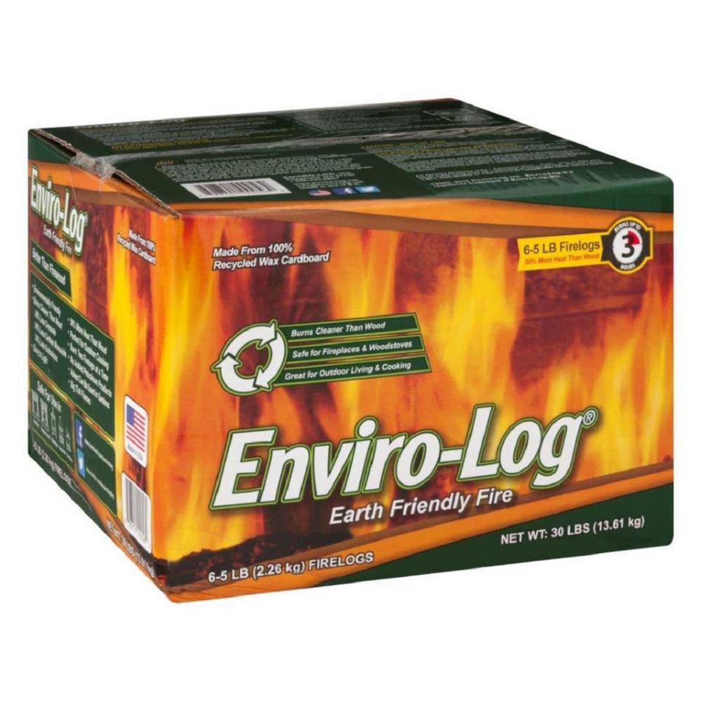 5 lb. Earth Friendly Fire Logs (6-Pack)