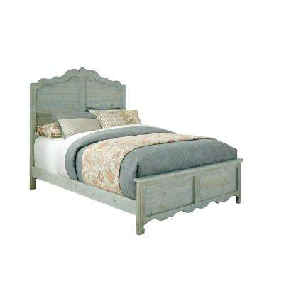 Chatsworth Mint Full Size Complete Panel Bed