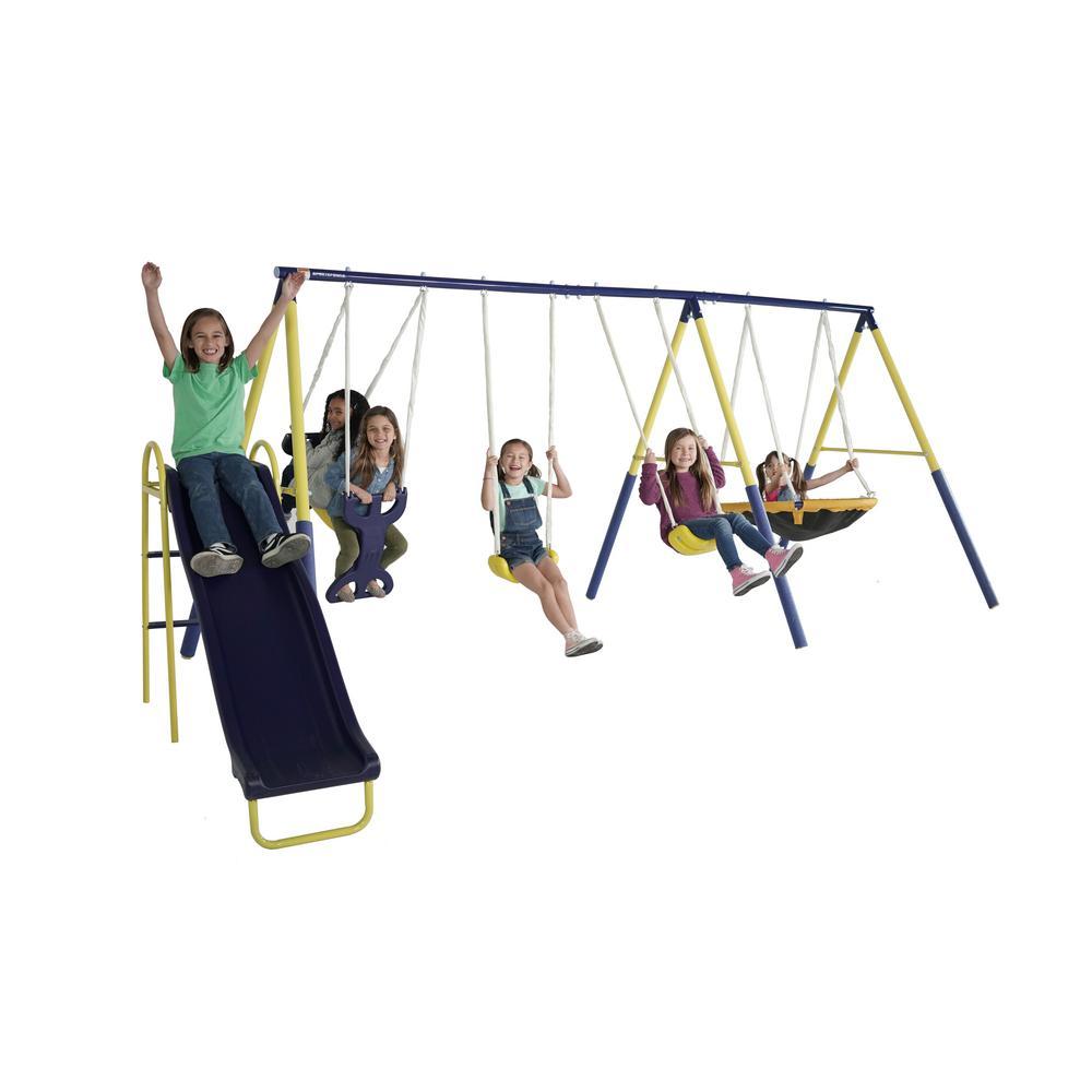 Super Star Swing and Slide Set