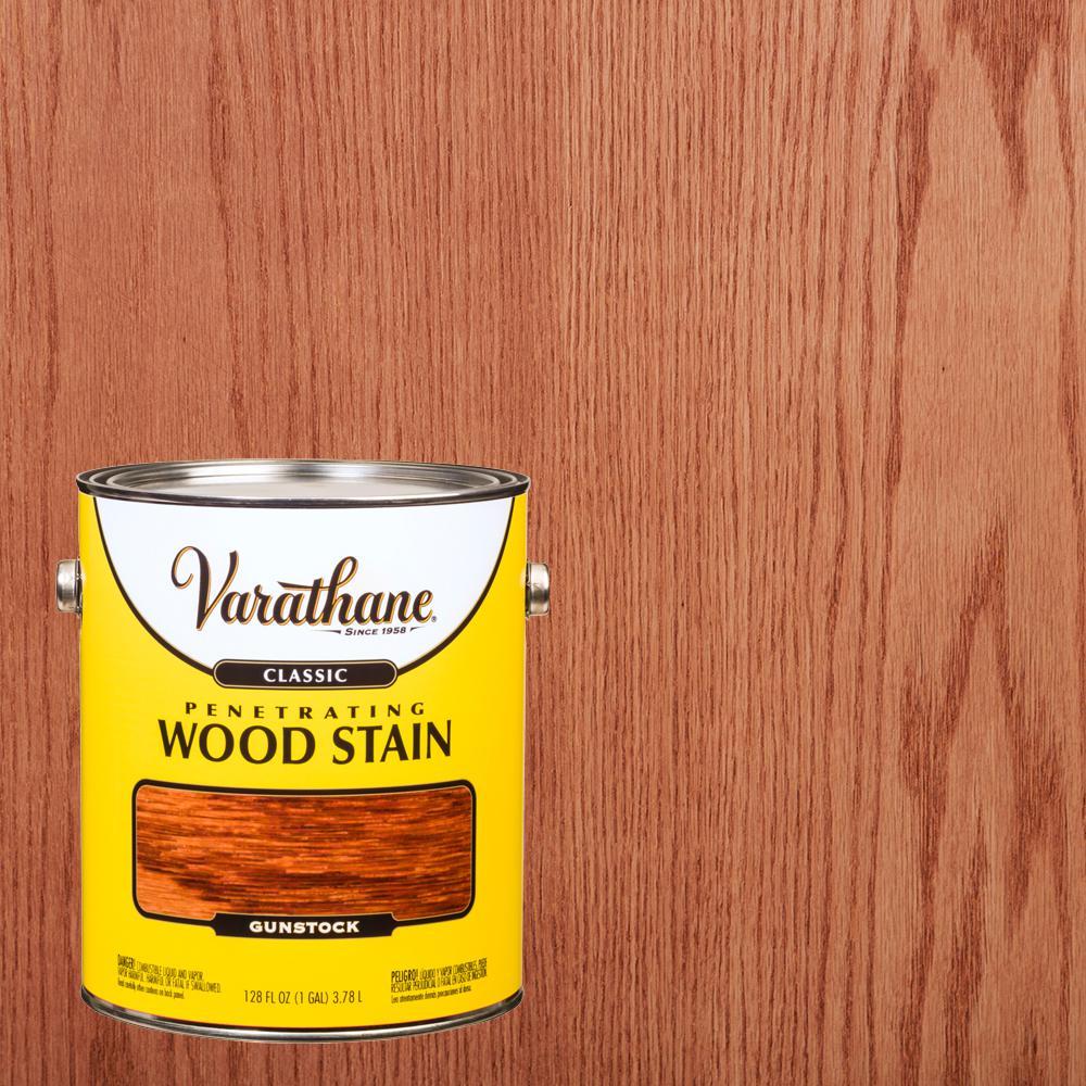 Varathane 1 gal. Gunstock Classic Wood Interior Stain