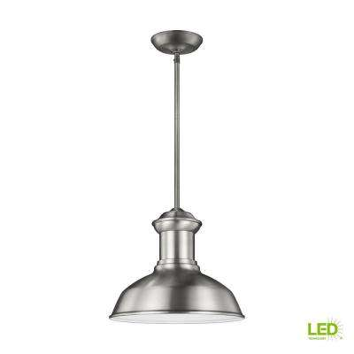 Fredricksburg Satin Aluminum Integrated LED Hanging Pendant