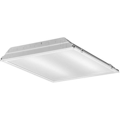 Contractor Select 2 ft. x 2 ft. 27.6-Watt Integrated LED White 3408 Lumens Commercial Grade Recessed Troffer, 4000K