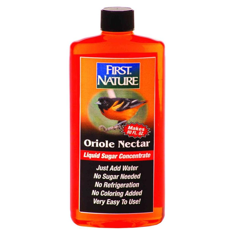 First Nature 16 Oz Orange Oriole Nectar 993087 306 The Home Depot