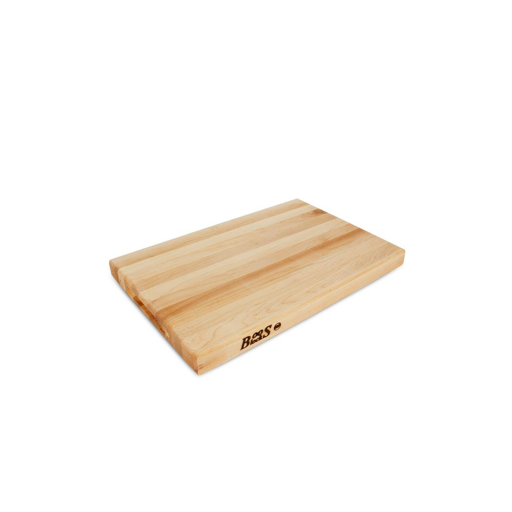 Details About New Reversible Maple Cutting Board 18 X 12 1 5 Wood Finish Kitchen Chopping