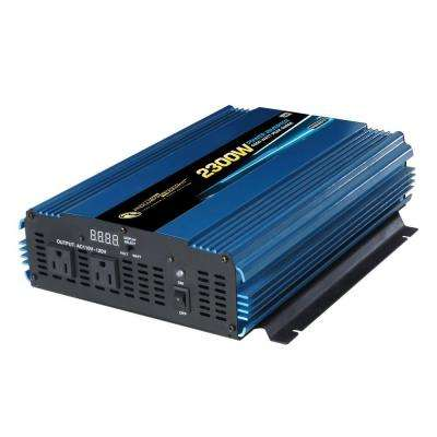 12-Volt DC to AC 2300-Watt Power Inverter