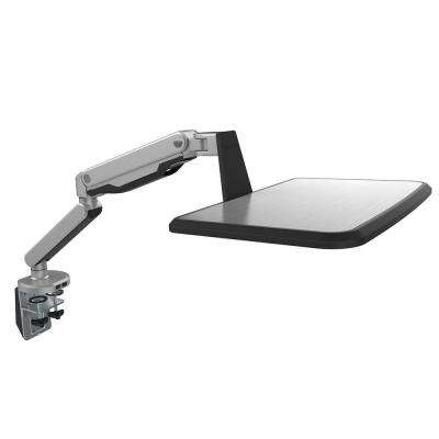 Laptop Mount Spring Arm Workstation Stand with USB Port for 10 in. - 17 in. Notebook MacBook Air and Pro