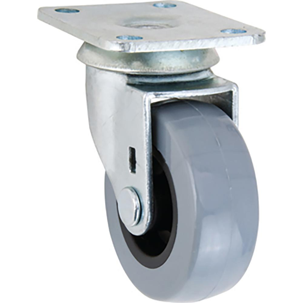 2 in. TPR Swivel Caster with 88 lb. Load Rating
