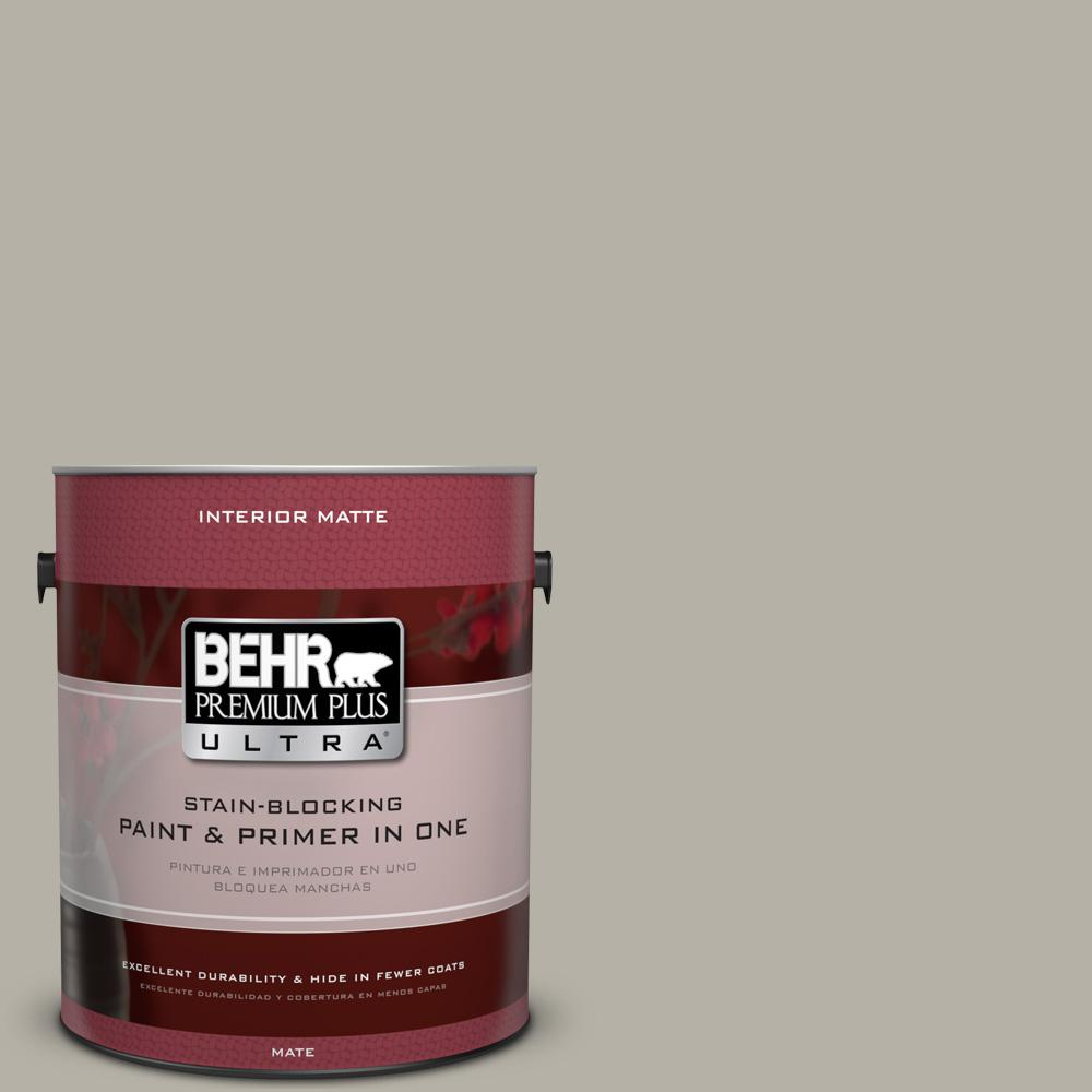 1 gal. #HDC-CL-27G Rushmore Gray Matte Interior Paint