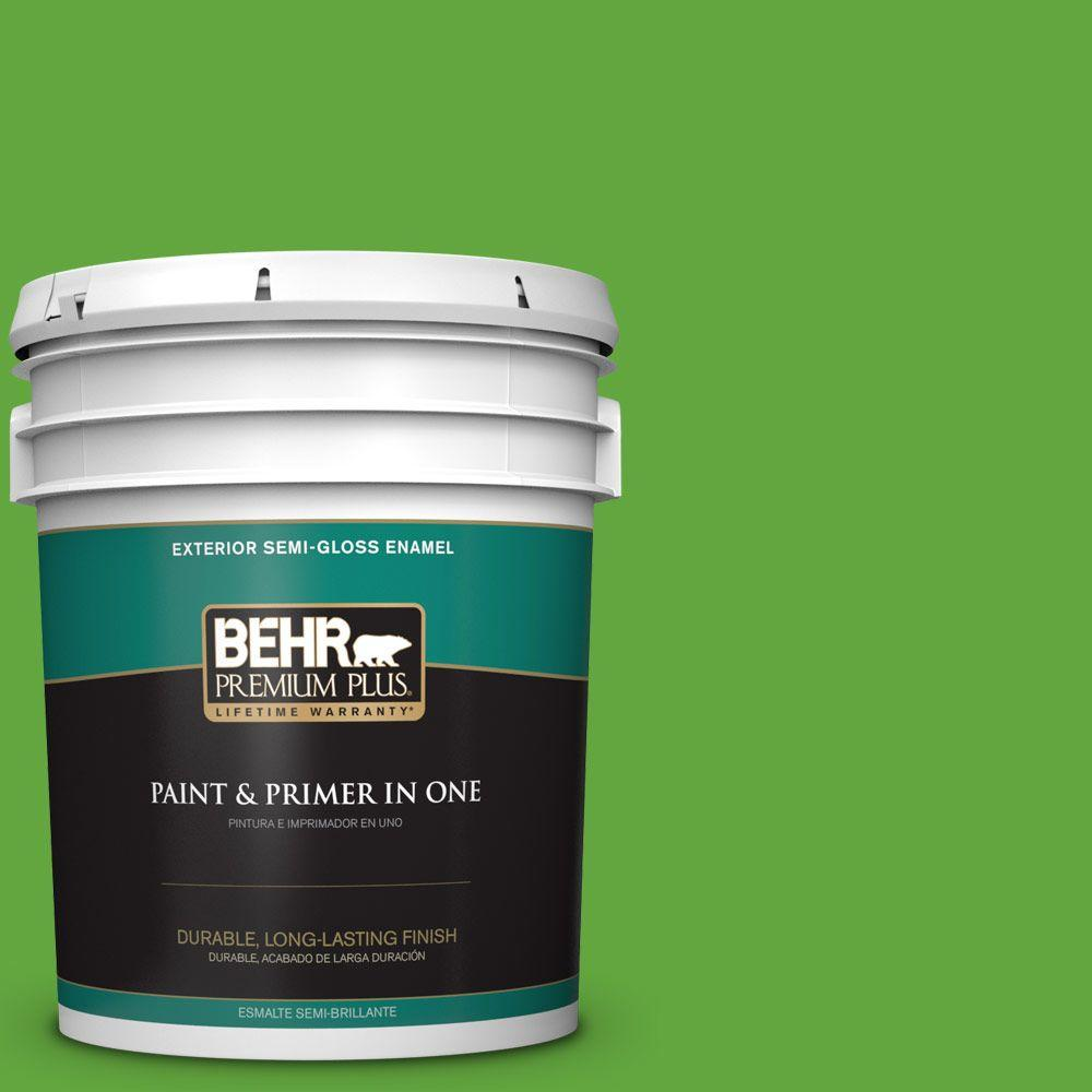 5-gal. #430B-6 Caterpillar Semi-Gloss Enamel Exterior Paint