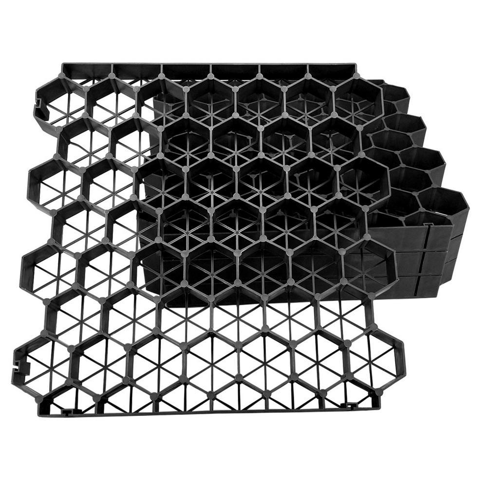 Techno Earth 19 7 In X 1 9 Black Permeable Plastic