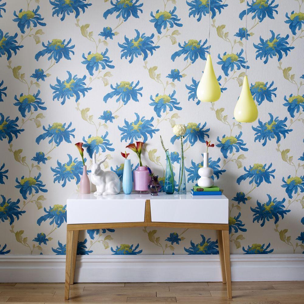 Graham & Brown Fabulous Teal Wallpaper