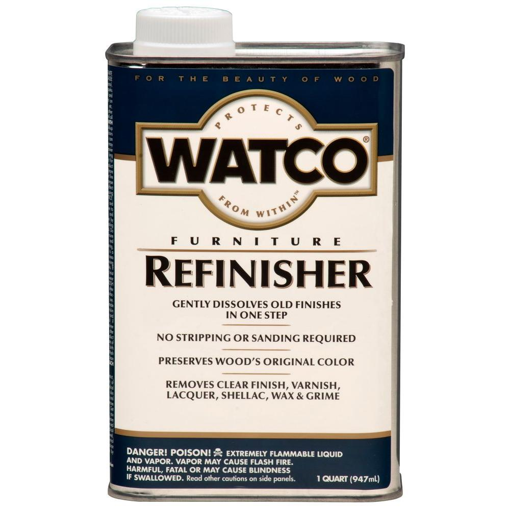 Furniture Refinisher (Case of 4) - Watco 1-qt. Furniture Refinisher (Case Of 4)-266279 - The Home Depot