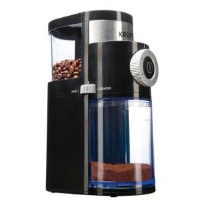 Click here to buy Krups Flat Burr Coffee Grinder by Krups.
