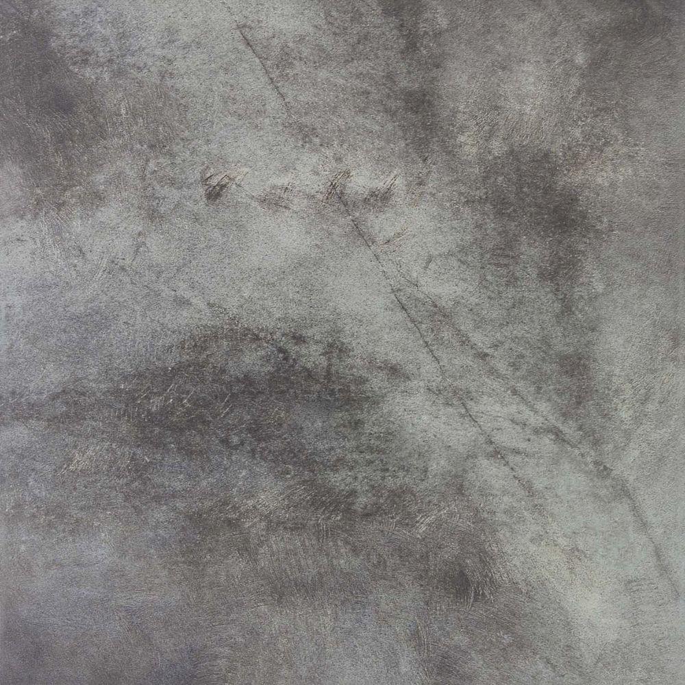 Dark Tile Master Bathroom: TrafficMASTER Orbiter Gray 18 In. X 18 In. Ceramic Floor