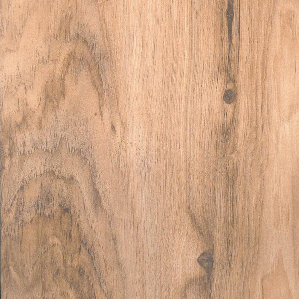 Natural Pecan Laminate Flooring - 5 in. x 7 in. Take Home Sample