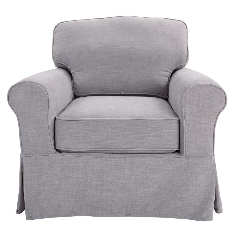 Ave Six Ashton With Fog Slip Cover Chair