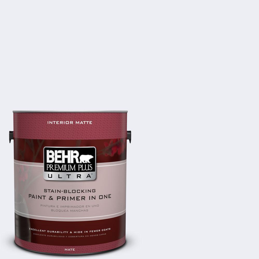 BEHR Premium Plus Ultra 1 gal. #PPL-13 Distant Windchime Flat/Matte Interior Paint