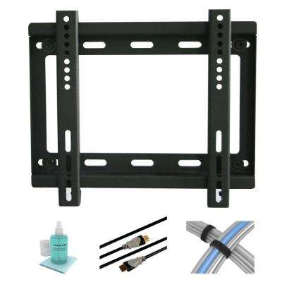 10 in. to 37 in. Low Profile Fixed TV Mount